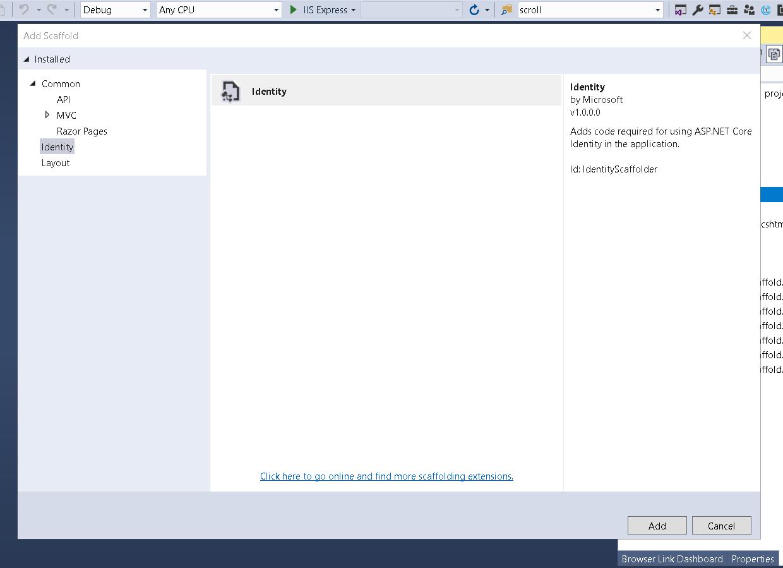 Customizing ASP NET Core 2 1 Identity UI and Database Tables