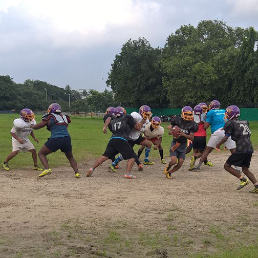 American Football in India