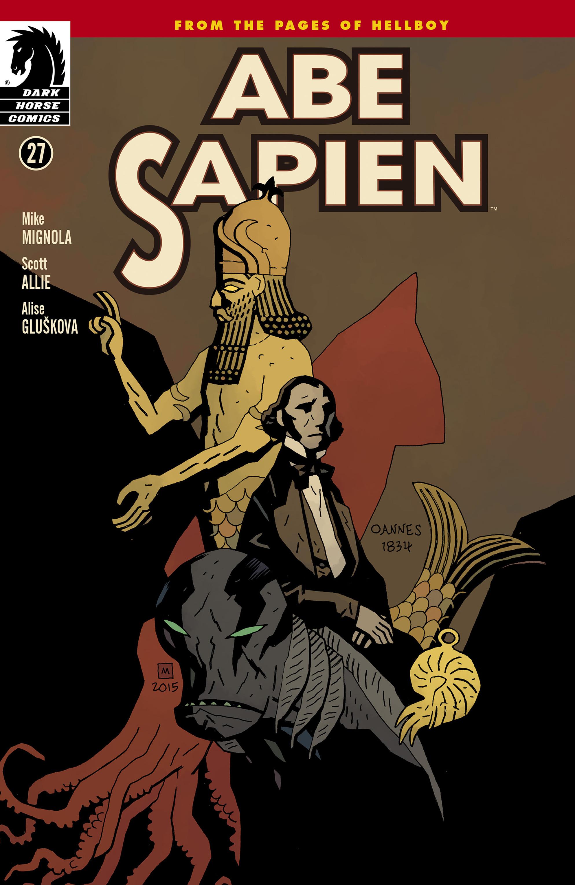 Read online Abe Sapien comic -  Issue #27 - 1