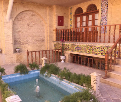 Forough Al-Molk Historical House in Sange Sia. Shraz, Iran