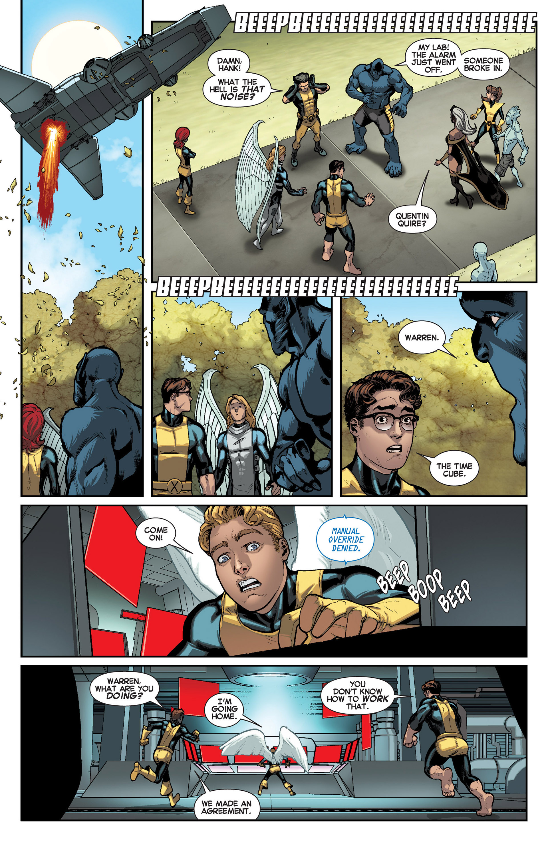 Read online All-New X-Men (2013) comic -  Issue #8 - 18