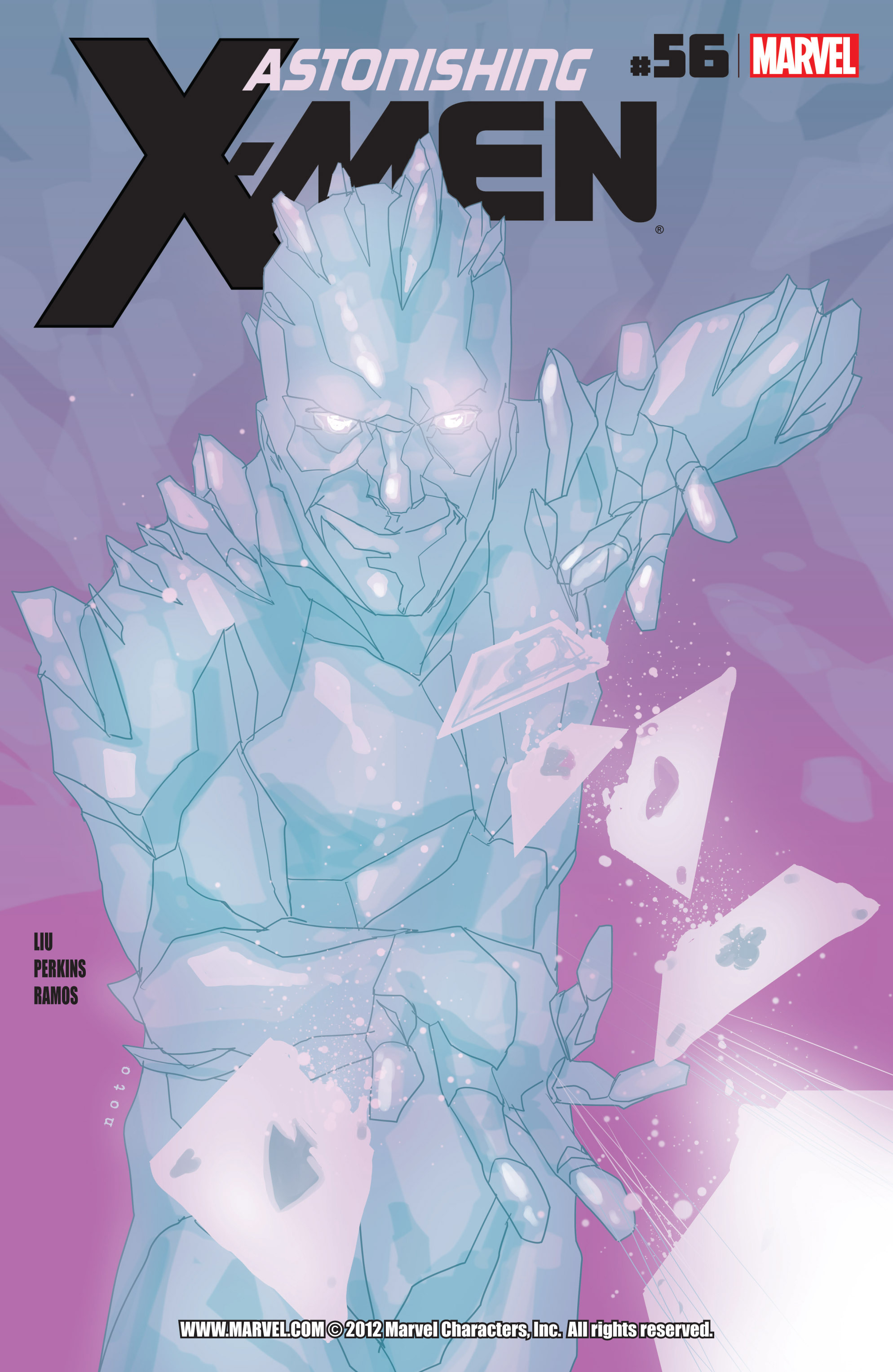 Read online Astonishing X-Men (2004) comic -  Issue #56 - 1