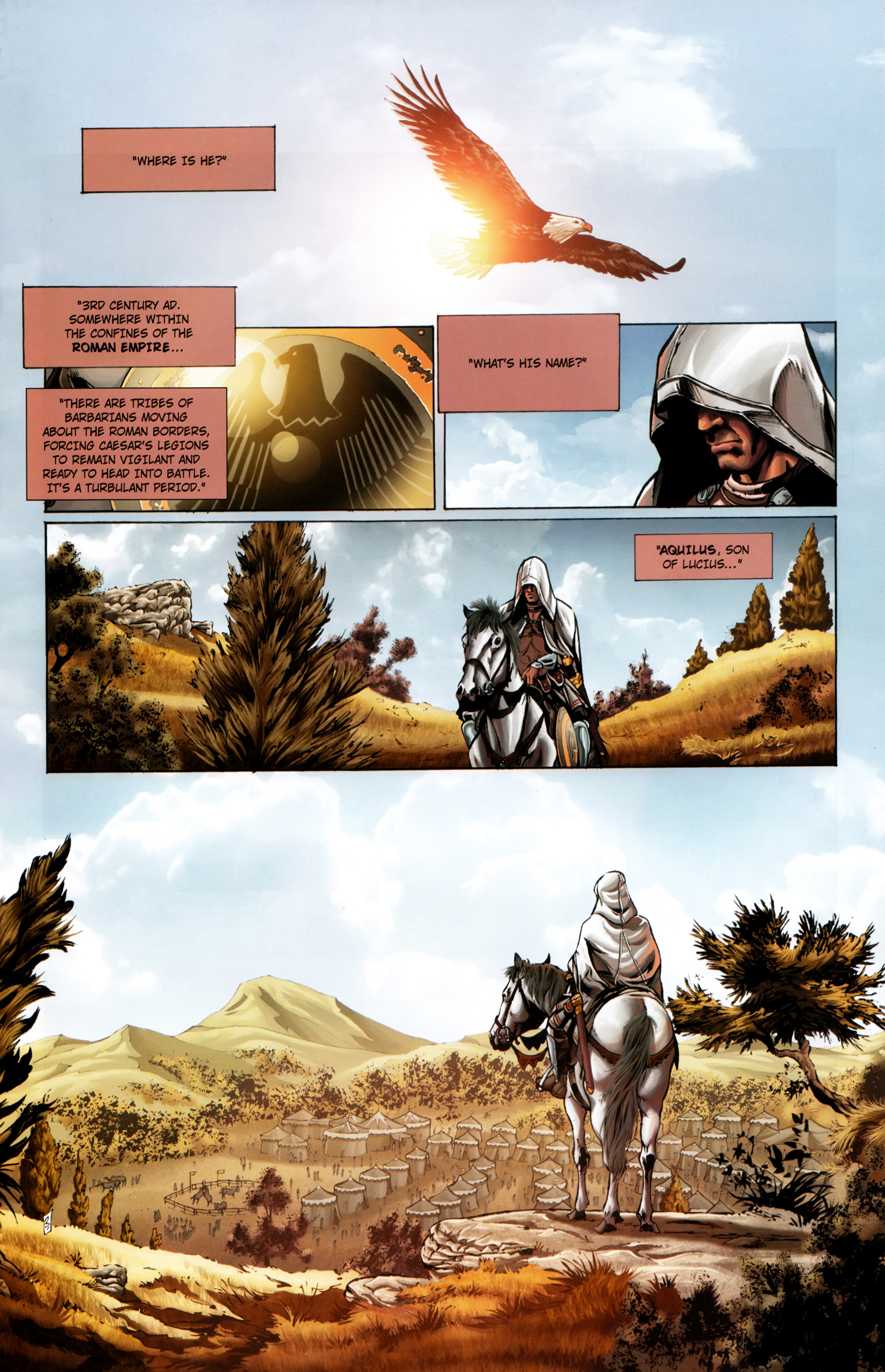 Read online Assassin's Creed (2012) comic -  Issue #1 - 9