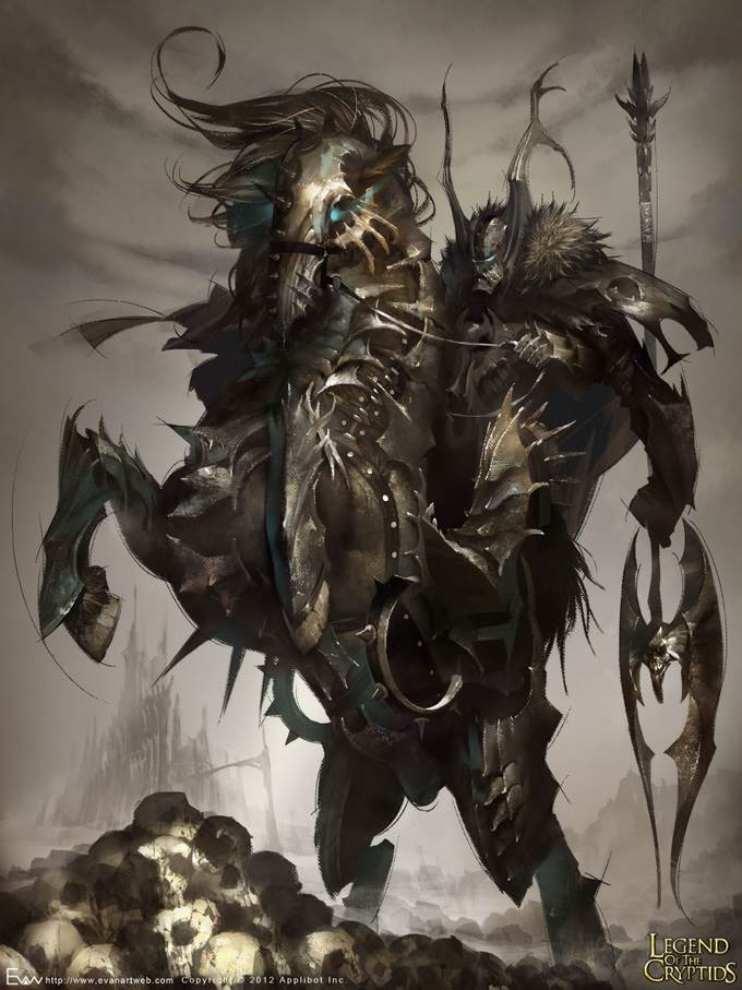 evan lee illustration devil knight advance