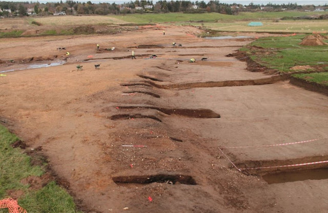 15,000-year-old artefacts discovered along Scotland's Aberdeen bypass