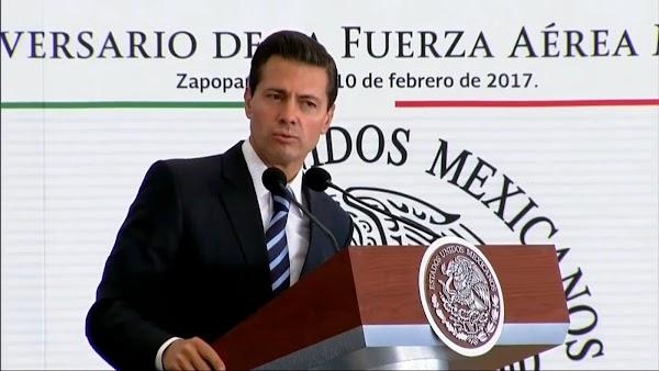Hay menos pobres, las carencias de las familias han disminuido en el país, asegura Peña Nieto