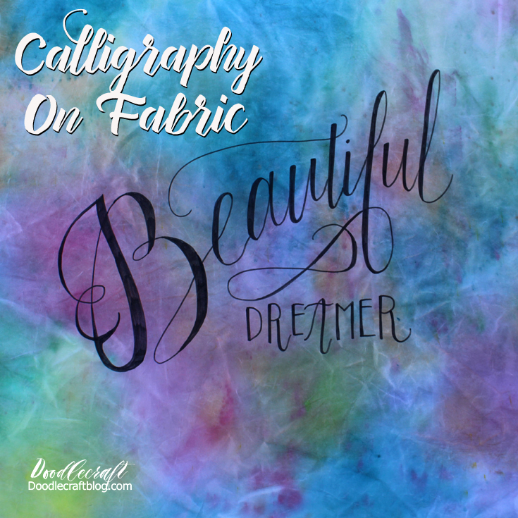 http://www.doodlecraftblog.com/2016/09/calligraphy-on-fabric-with-lightbox.html