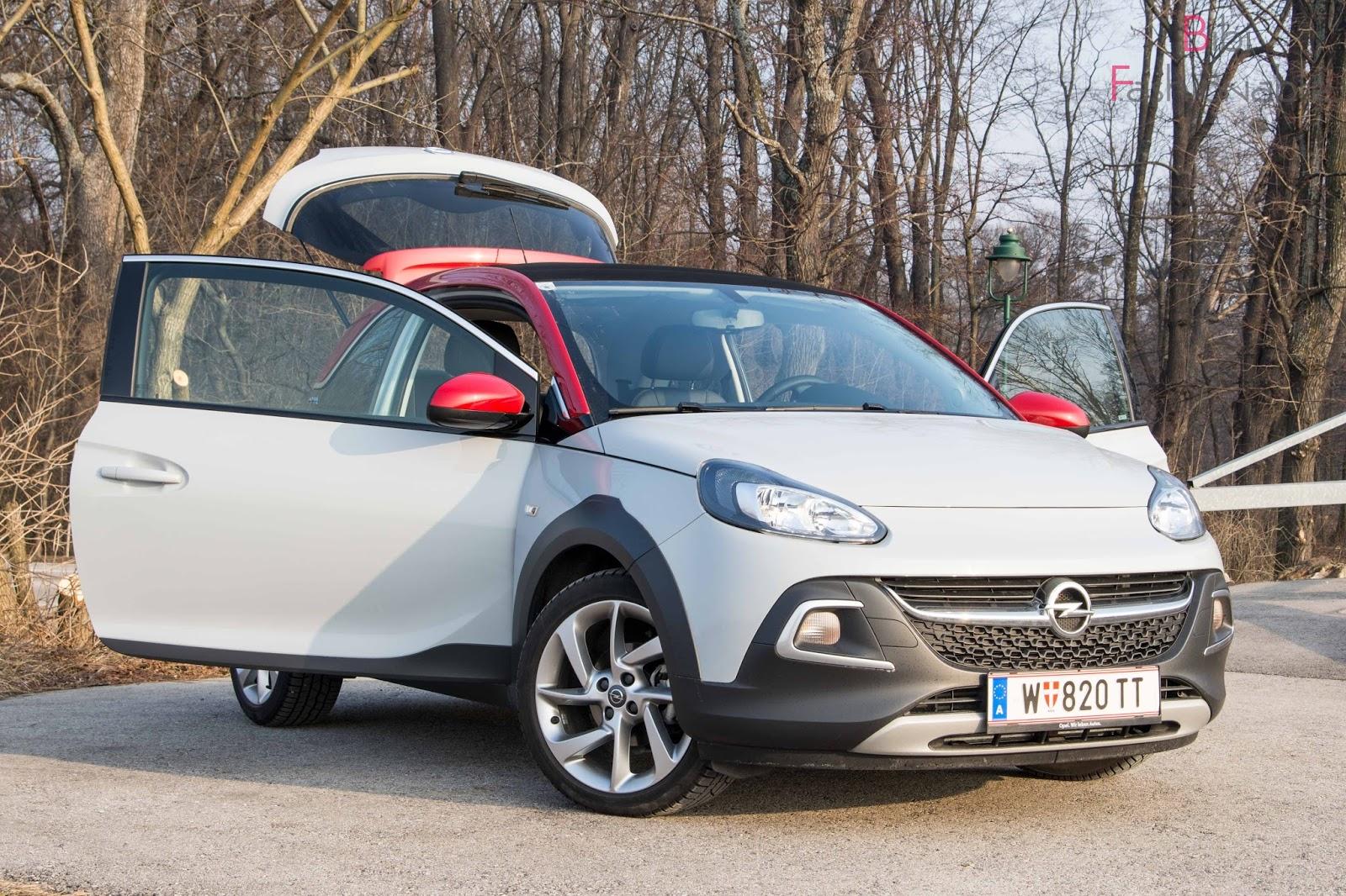 Opel Adam Rocks Türen offen
