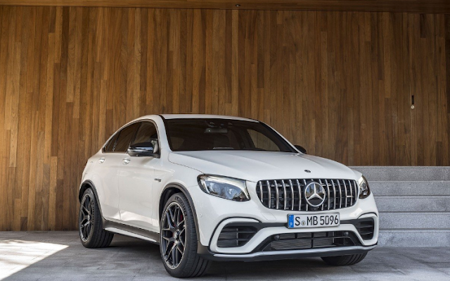 2018 Mercedes-AMG GLC63 Coupe Exterior