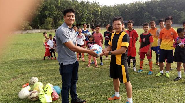 LPM  Unimed Berdayakan Remaja Melalui Olahraga Sepak Bola di Kecamatan Dolok Masihul