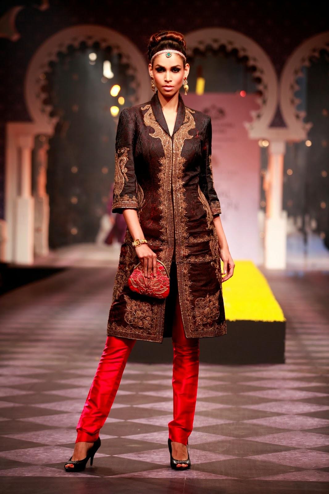 Ethnic Indian Saree For Bride: Indian Ethnic Designer Fashion Men Women By RAGHAVENDRA
