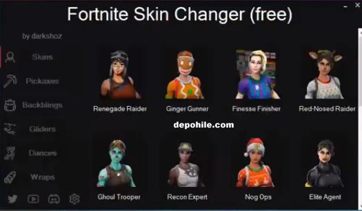 Fortnite Yeni 15 Tane Kostüm Hilesi Mart 2019 (Skin Changer)