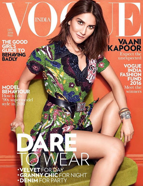 Vaani Kapoor on Vogue Magazine Cover