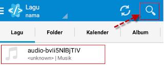 Aplikasi start Musik Editor