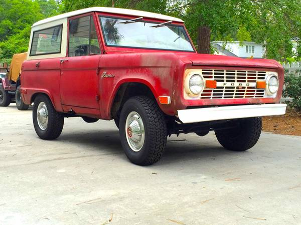 Barn Find, 1969 Ford Bronco