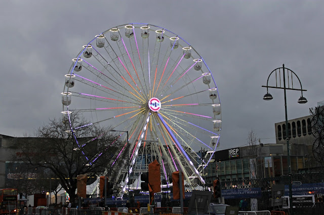 Buy canvas wall art of Birmingham Wheel