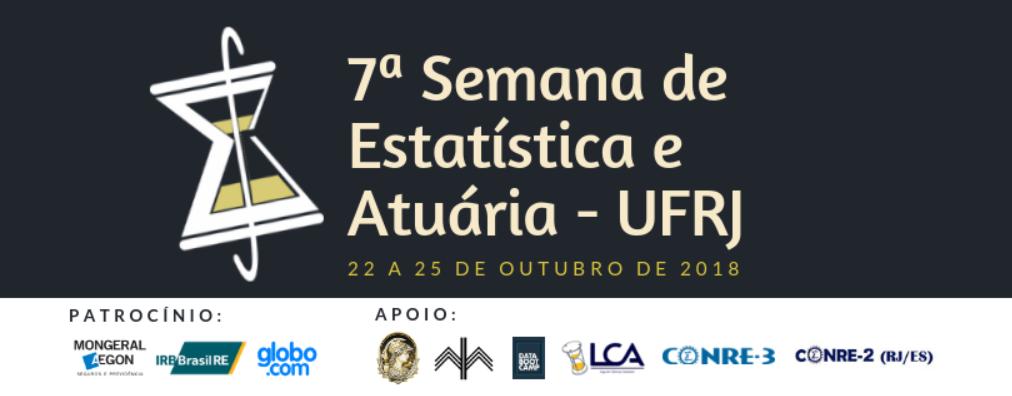 010af59d32 7a Semana de Estatística e Atuária da UFRJ