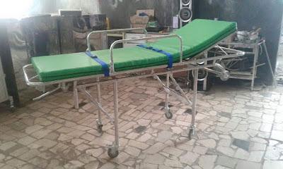 tandu brankar ambulan stretcher