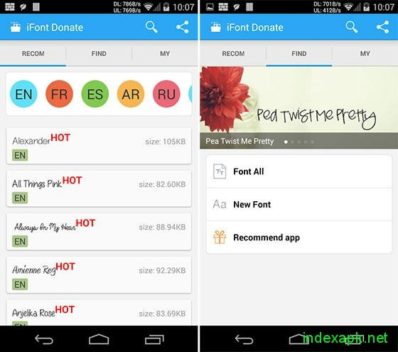 ifont donate apk free download