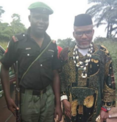 police officers photos kanu punished