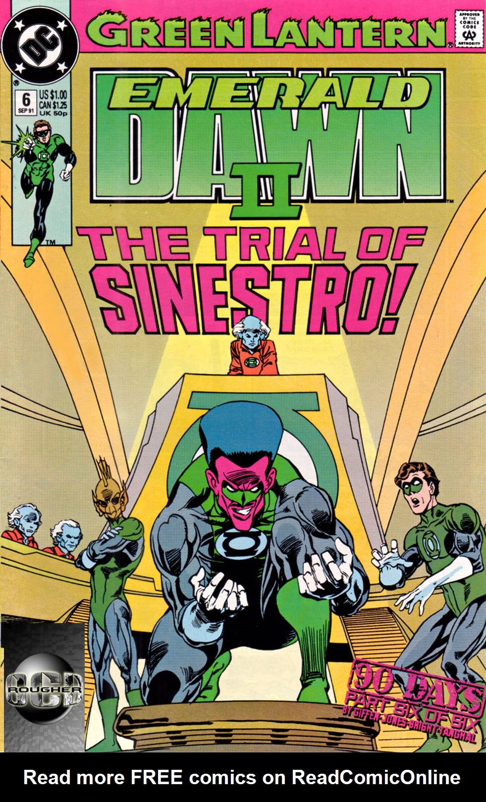 Green Lantern: Emerald Dawn II 6 Page 1