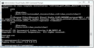 example output code program doubles queue