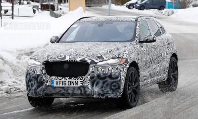 Nouveau Jaguar F-Pace SVR 2019 - Caractéristiques, Prix, Date de Sortie