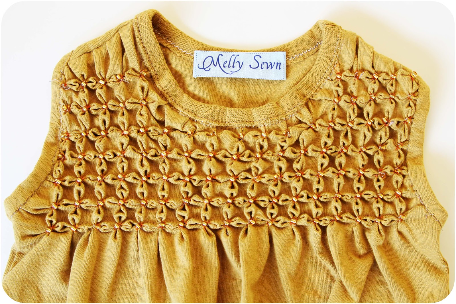 Fields of Gold - Smocked Dress Tutorial - Melly Sews