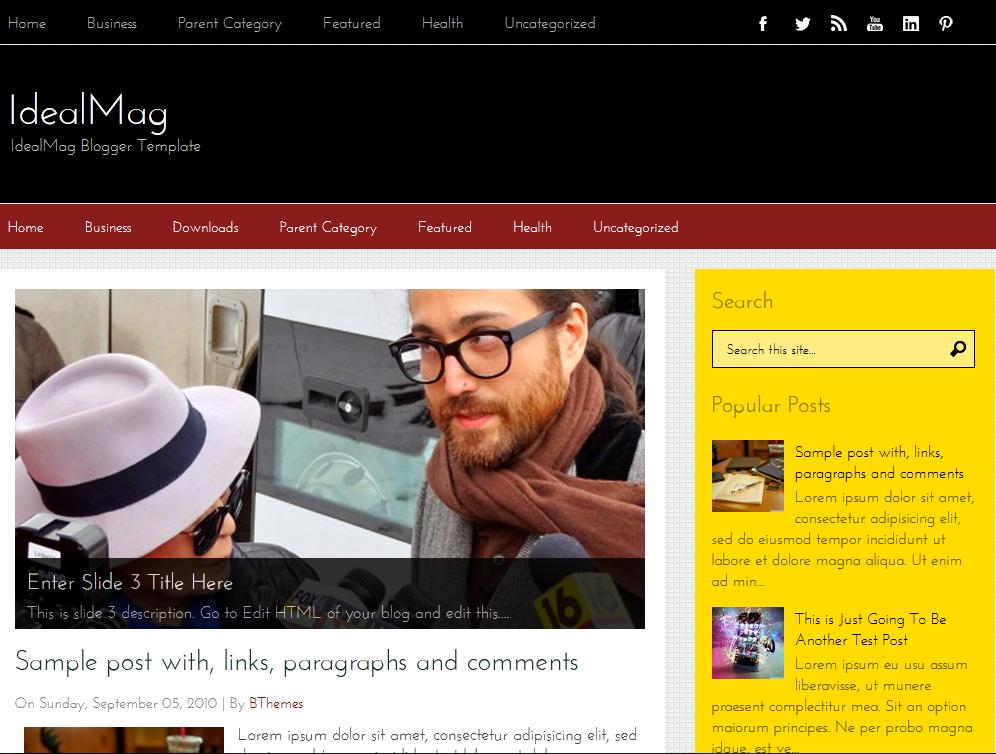 responsive blogger templates, free blogspot templates, free blogger template
