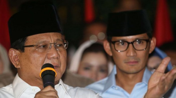 Prabowo – Sandi Seharusnya Malu Dengan Rakyat