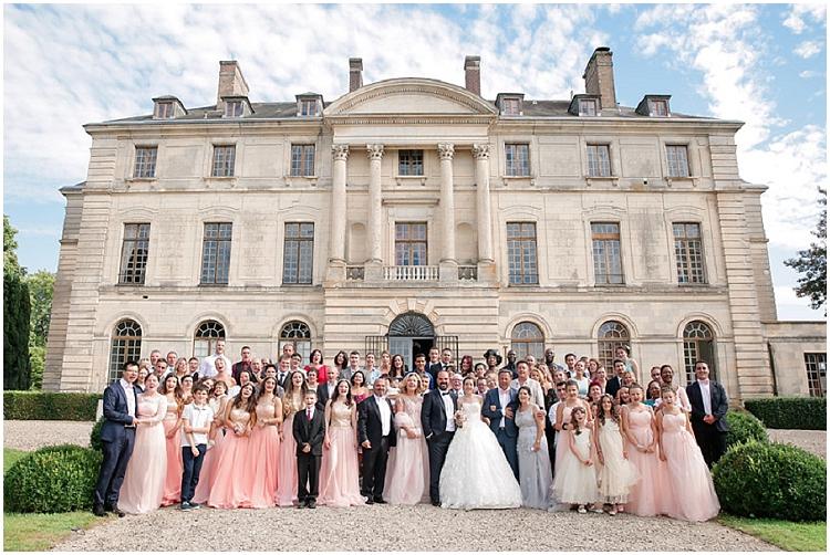 Château Chapeau Cornu mariage photographe