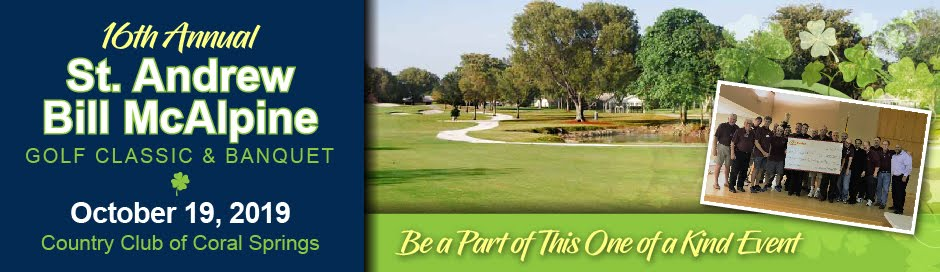 2019 Bill McAlpine Golf Classic & Banquet