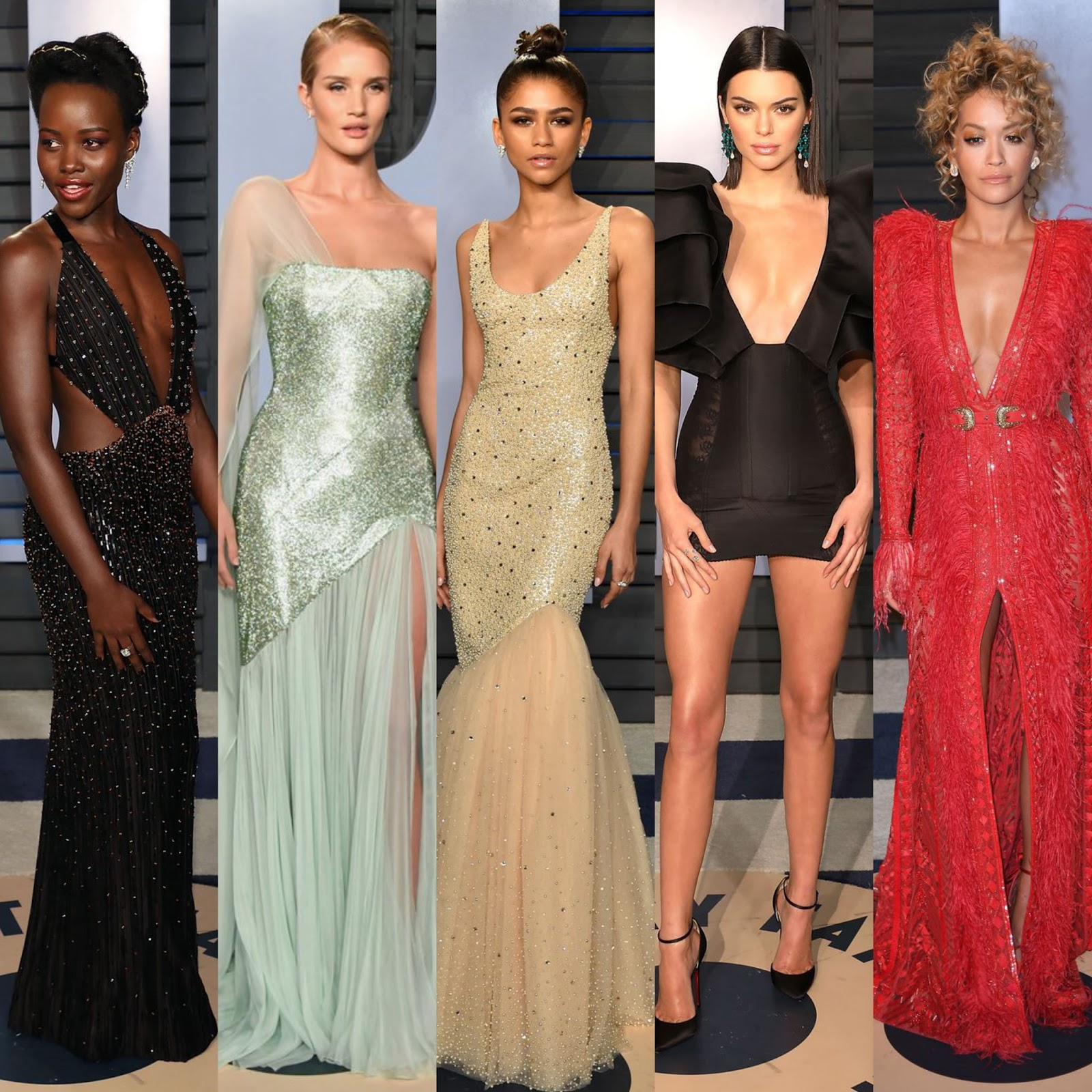 WHO WORE WHAT? .....2018 Vanity Fair Oscar Party Red Carpet | Nick ...