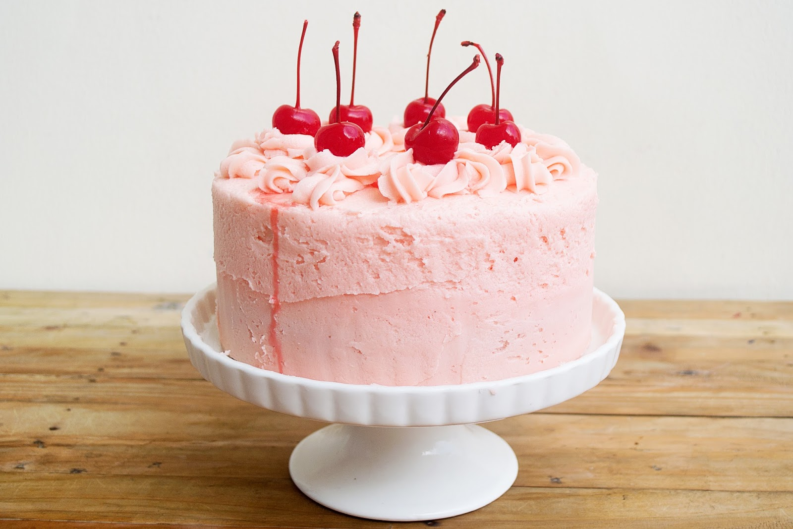 Frost & Serve: Chocolate Cherry Cake | Cherry Buttercream Recipe