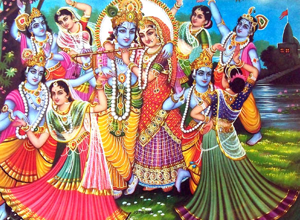 Krishna Radha Wallpaper for Mobile