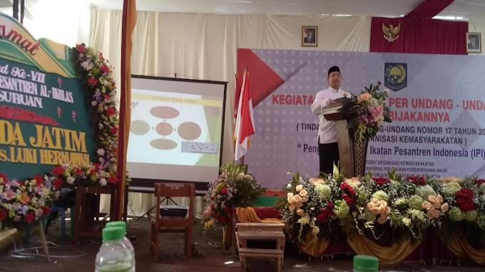 Milad ke VII Yayasan Pondok Pesantren Al-Ikhlas Pasuruan Dan Sosialisasi Perundang Undangan Ormas