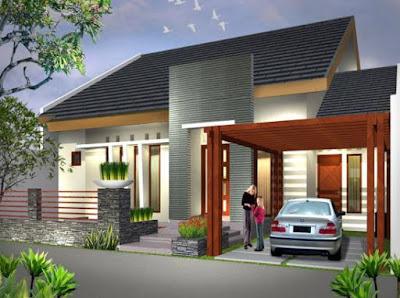 Model Gambar Rumah Minimalis 1 Lantai Modern Terbaru