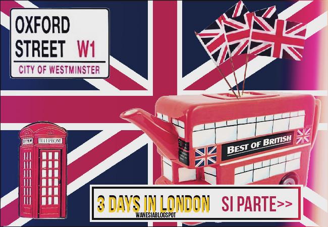 Si parte per Londra
