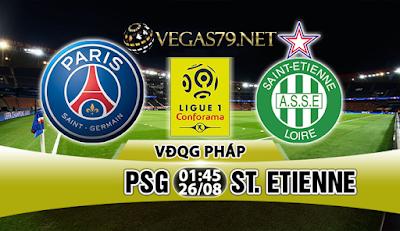Nhận định, soi kèo nhà cái PSG vs St. Etienne