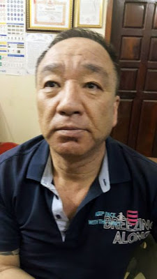 South Korean fugitive Shin Joungchul, who was arrested in Siem Reap yesterday. National Police