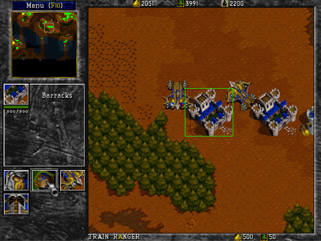 Warcraft 2 Barracks Screenshot