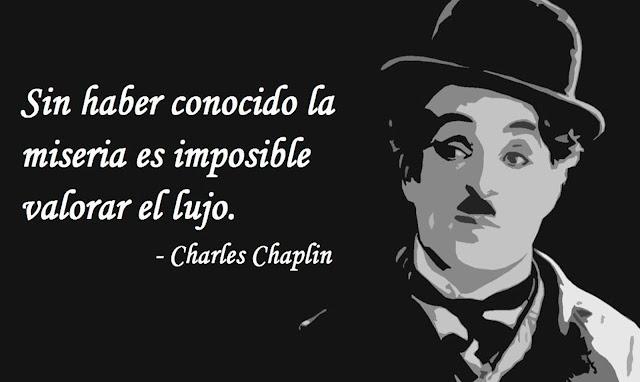 Hermoso poema de Charles Chaplin para ti