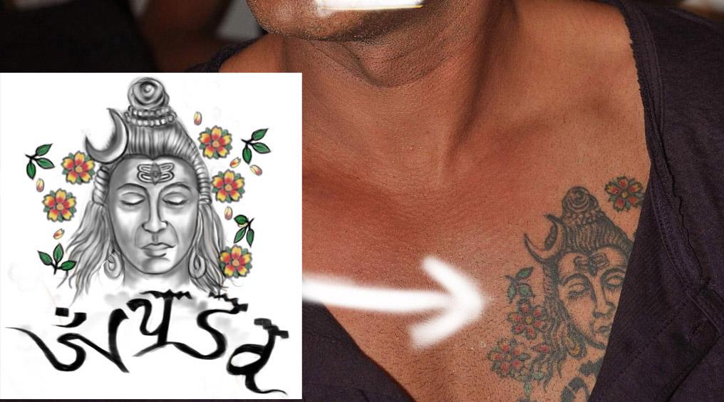 Tattoos on Pinterest | Bollywood, John Abraham and S Tattoo  |Ajay Devgan Shiva Tattoo Designs