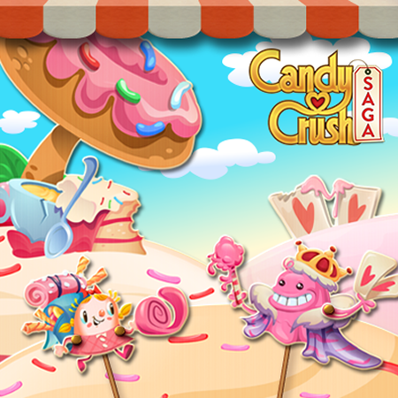 Candy Crush Saga level 2826-2840