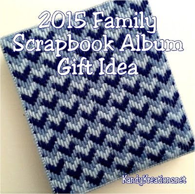 Keep up with your family memories with a unique and fun scrapbook album that would make a great gift idea for anyone who loves your family.  With lots of different techniques and style, this smash memory album will be repeated and enjoyed for years to come.