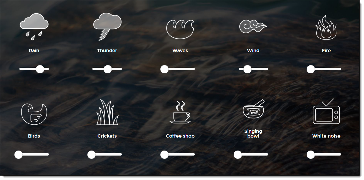 Control Alt Achieve: 8 Ambient Sound Websites to Help