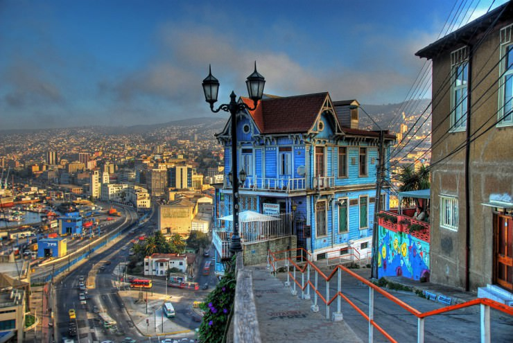 Top 10 Vibrant Cities in South America - Valparaiso, Chile