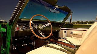 1969 Dodge Hemi Coronet RT Convertible Interior Cabin
