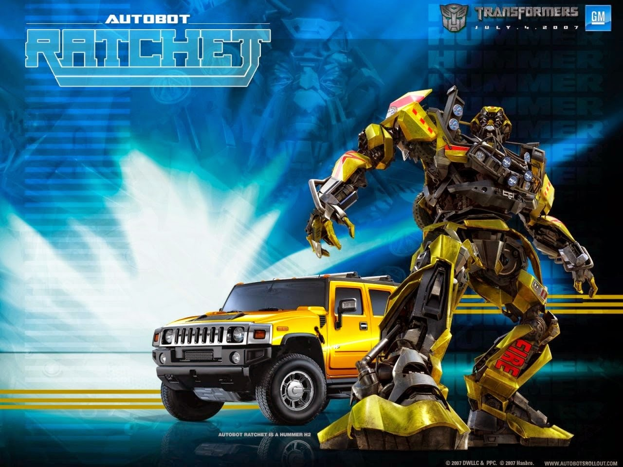 Ratchet Autobot Transformers Wallpaper Hd Wallpaper