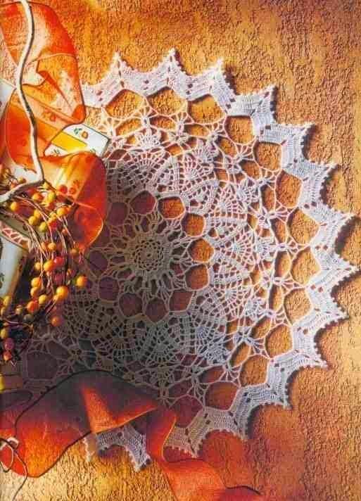 Patrones De Carpetas Redondas Al Crochet Todo Crochet
